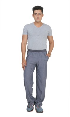 Broche Striped Men's Grey Track Pants