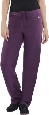 Macrowoman Lounge Solid Women's Purple Track Pants