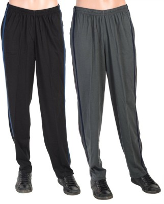 Gazelle Active Solid Men's Black, Grey Track Pants