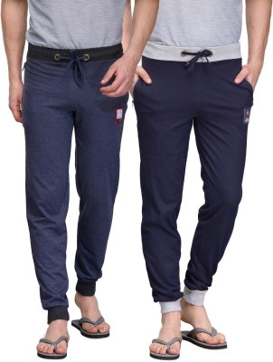 TSX Solid Men's Blue, Blue Track Pants