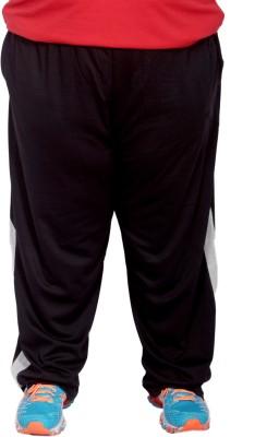 Xmex Solid Men's Black Track Pants