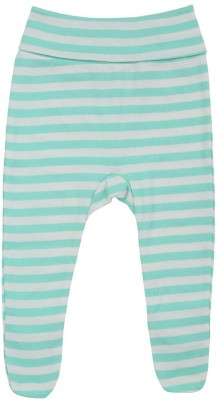 Sand Beach Striped Baby Boys Green, Grey Track Pants
