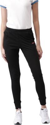 2Go Solid Women's Black Track Pants at flipkart