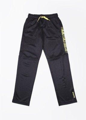 Reebok Printed Men's Black Track Pants