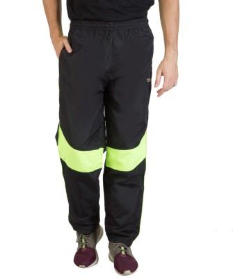 Burdy Solid Men's Light Green Track Pants