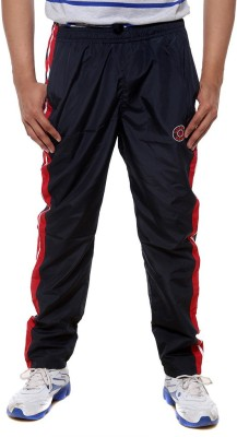 Sports 52 Wear T1295 Solid Men's Dark Blue, Red Track Pants