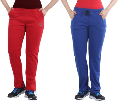 Bfly Solid Women's Blue, Red Track Pants