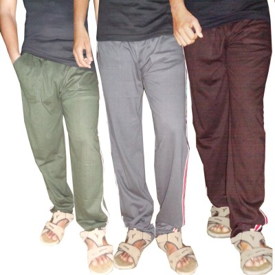 WellFitLook Cool TrackPant Solid Men's Multicolor Track Pants