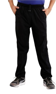 Fizzi pro Solid Men's Black Track Pants