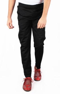 Repugn Solid Men's Black Track Pants