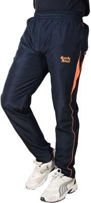Blue Horse Solid Men's Blue, Orange Track Pants