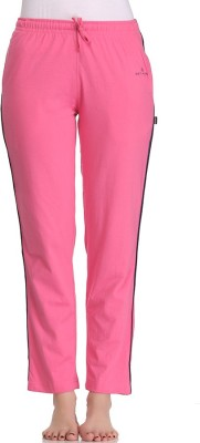 Tryd Pro Solid Women's Pink Track Pants