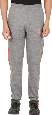 Greenwich Solid Men's Red Track Pants