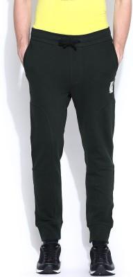 883 Police Solid Men's Black Track Pants