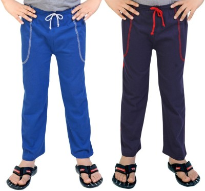 Be 13 Solid Baby Boy's Blue, Dark Blue Track Pants