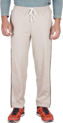 Frang Solid Men's Beige Track Pants