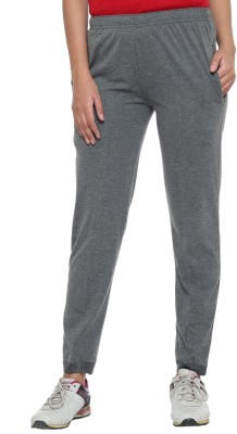 Vimal Solid Women's Grey Track Pants at flipkart