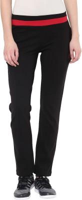 Sakhi Sang Solid Women's Black, Maroon Track Pants