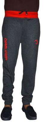 Gen Printed Men,s Grey Track Pants