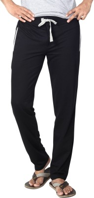 AVOQ-Style Reboot Solid Men's Black, Grey Track Pants