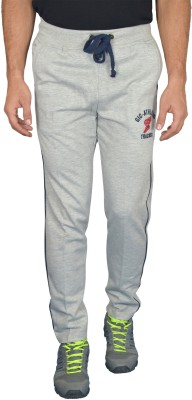 Griffel Solid Men's Grey Track Pants