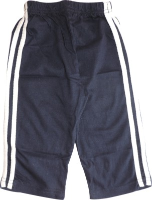Ole Baby Sporty Vertical Striped Baby Boy's Blue Track Pants