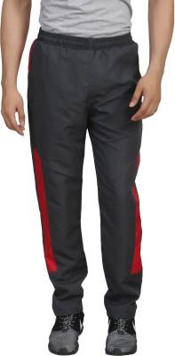Trendy Trotters Solid Men's Grey Track Pants