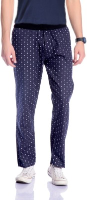 Cool Gene Printed Men's Blue Track Pants