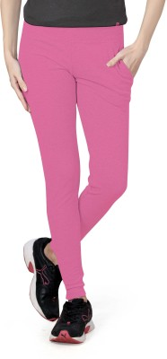 Towngirl Solid Women's Pink Track Pants