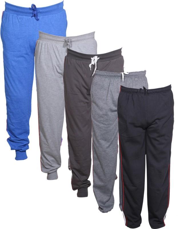 Tullis Solid Men's Blue, Grey, Brown, Grey, Black Track Pants
