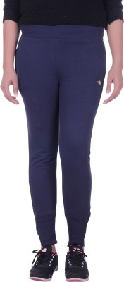 Rafters Solid Women's Dark Blue Track Pants