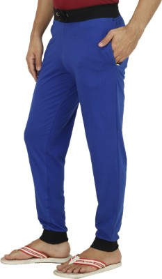 Rakshita's Collection Solid Men's Blue Track Pants