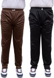 Nationwide Garments Solid Men's Brown Tr...