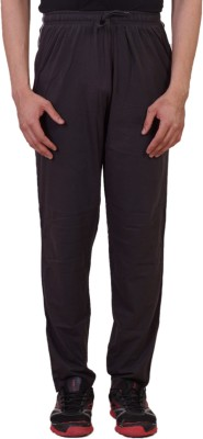 Tab 91 Men's Lower Solid Men's Brown Track Pants