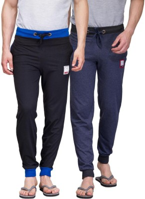 TSX Solid Men's Blue, Black Track Pants