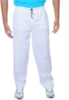 Force Solid Men's White Track Pants