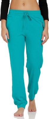Squirrel Solid Women's Green Track Pants