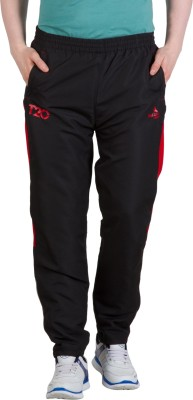 Goodluck L-0008 E Striped Men's Black, Red Track Pants