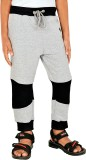 Gkidz Track Pant For Boys (Grey)