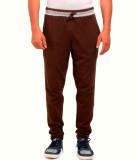 Vego Self Design Men's Green Track Pants