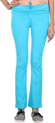 Eimoie Solid Women's Blue Track Pants