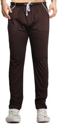 Smart Look 7 Solid Men's Brown Track Pants