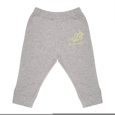 Wow Mom Printed Baby Boy,s Grey Track Pants