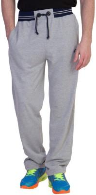 Hog Solid Men's Grey Track Pants