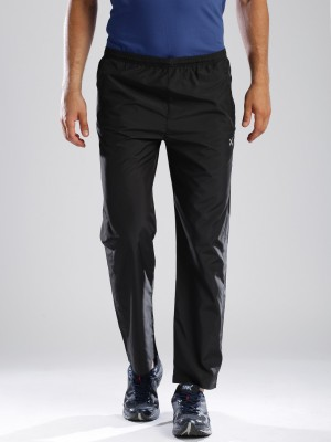 HRX by Hrithik Roshan Woven Men's Black Track Pants
