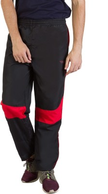Burdy Solid Men's Red Track Pants