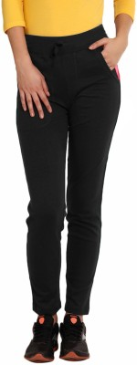 Softwear Solid Women's Black Track Pants