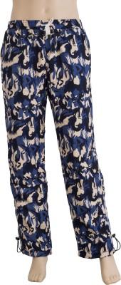 Karwan International Printed Men's Blue Track Pants