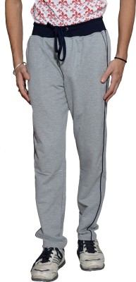 Gen Solid Men's Grey Track Pants