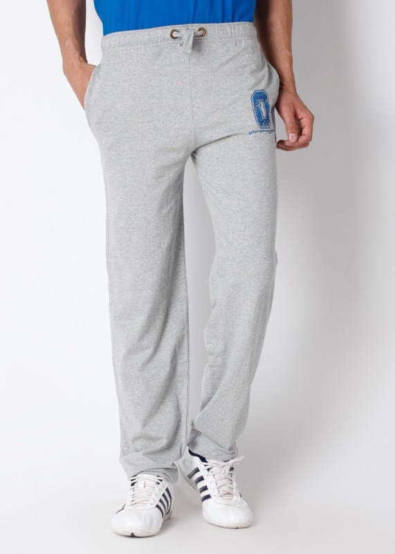 Chromozome Solid Men's Grey Track Pants